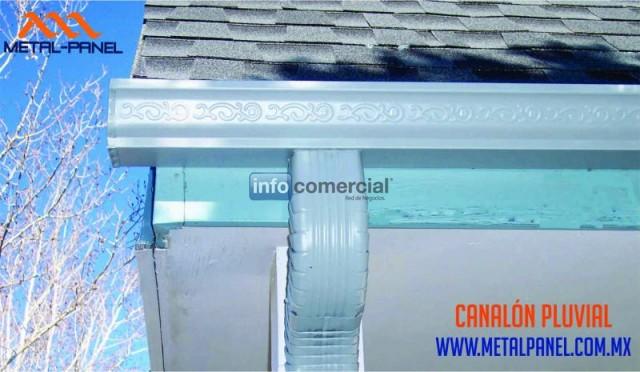 Canaln o canaleta de agua pluvial asthetik gutter los cabos - Canaletas para agua ...