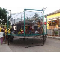 Trampolin  inflables saltarines dummies