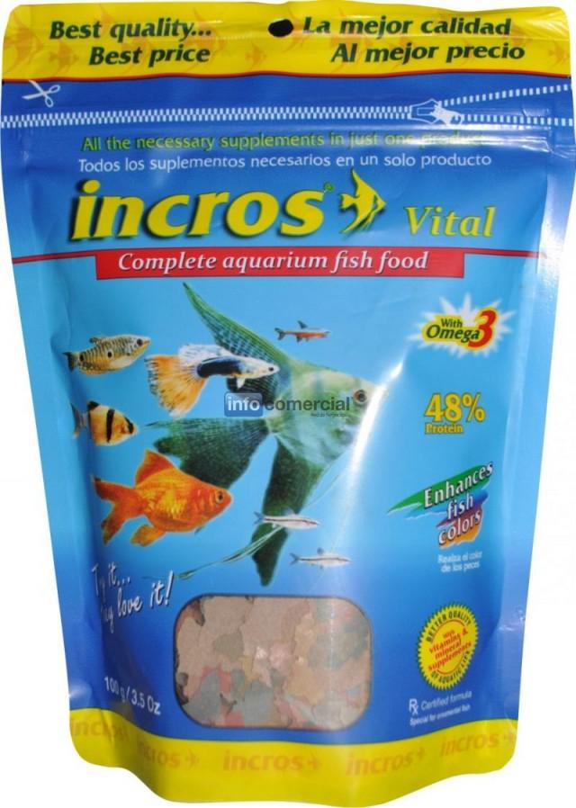 Alimento completo en hojuelas para peces de acuario for Alimento para peces acuario
