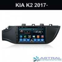 Por Mayor Kia K2 2017 Radio Dvd para Coche Android 6.0