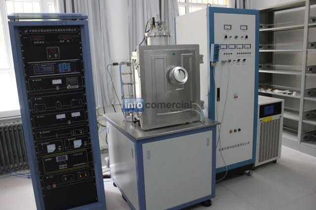 Experimental Evaporation Coater (with resistance, e-beam, induction and ion source, etc.)