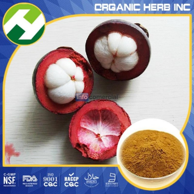 The purple mangosteen (Garcinia mangostana) extract
