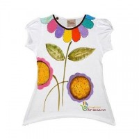 Universo Artesano - T-Shirt 100% cotton handpainted ecofriendly social responsable