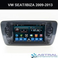 China OEM Manufactory Navigation Gps Units with Radio DVD Seat Ibiza MK4 2009-2014