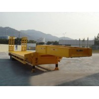 Heavy duty low bed semi trailer