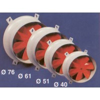 Extractor industrial 40cm reversibles / Industrial extractors flow fans´ type  40cm revertible