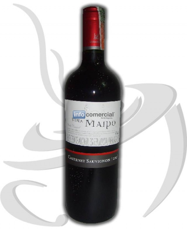 VINO CHILEÑO VIÑA MAIPO 750 ML