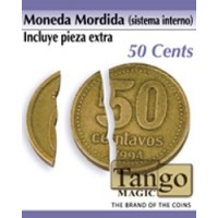MONEDA MORDIDA 50 CENT (SIST. INTERNO)