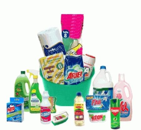 Casas cocinas mueble articulos limpieza for Productos de limpieza