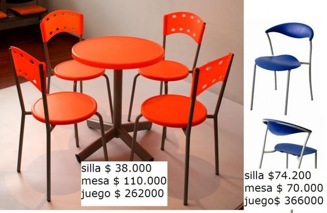 Venta De Sillas Y Mesas De Cafeteria