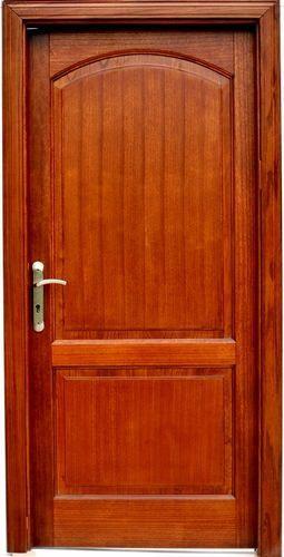Puertas de madera solida for Modelos de puertas de madera para dormitorios
