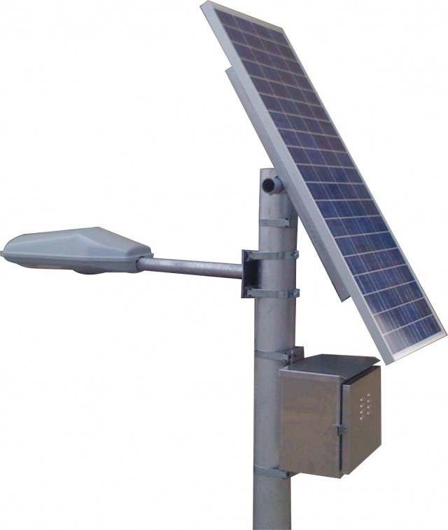 Sistemas de paneles solares - Lamparas solares para exteriores ...