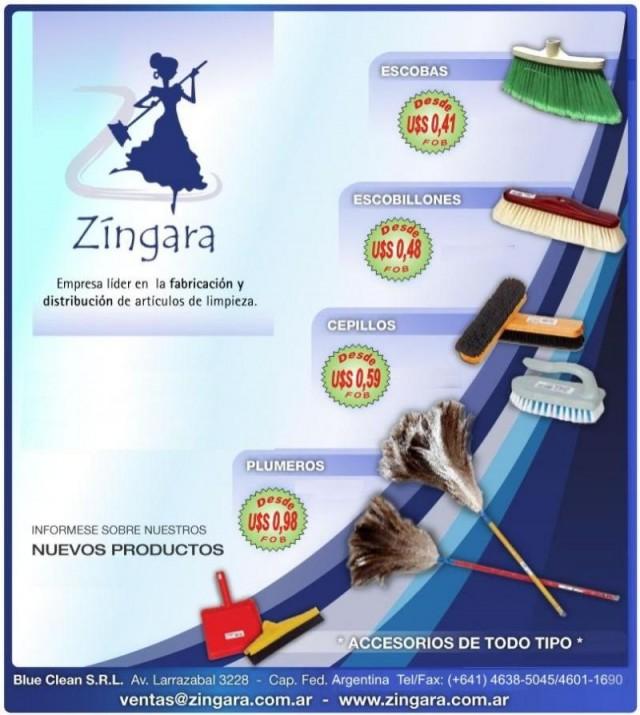 Zingara productos de limpieza for Productos de limpieza