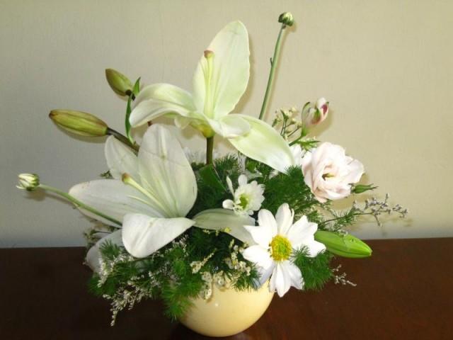 Arreglos de rosas elaborados con flores naturales tattoo - Arreglos florales naturales ...