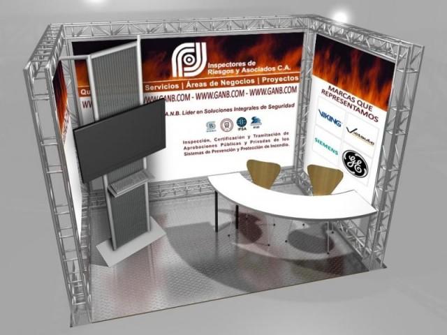 Stands para exposiciones for Disenos de stand para exposiciones