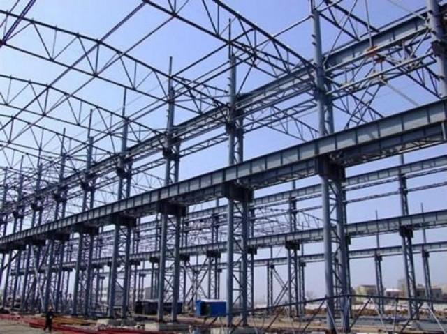 Estructura de acero planta for Estructuras para viveros plantas