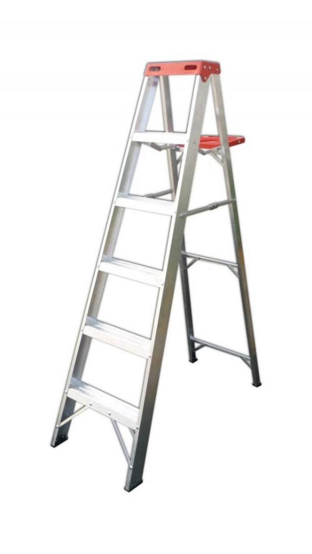 Escaleras de aluminio for Escalera telescopica aluminio