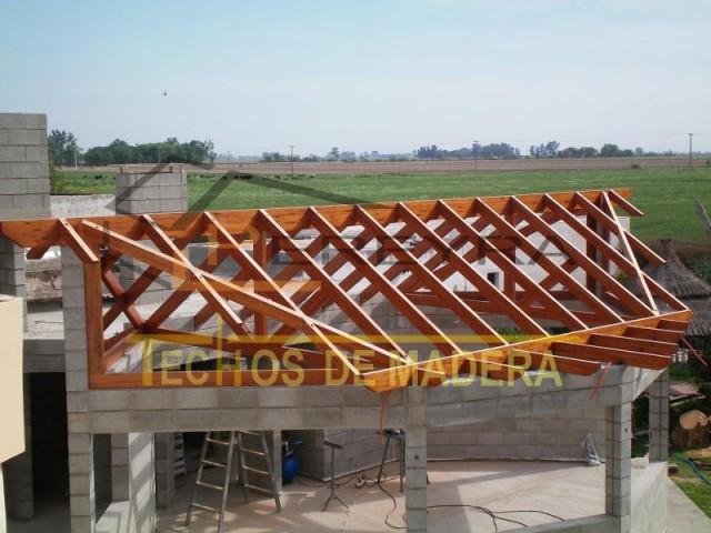 Techos de madera - Estructuras de madera para techos ...