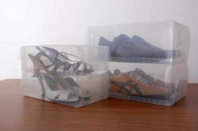Cajas para zapatos transparentes - Cajas transparentes para zapatos ...
